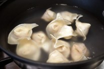 Boil those wontons!