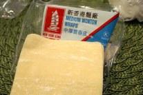 Get medium thickness wonton wraps